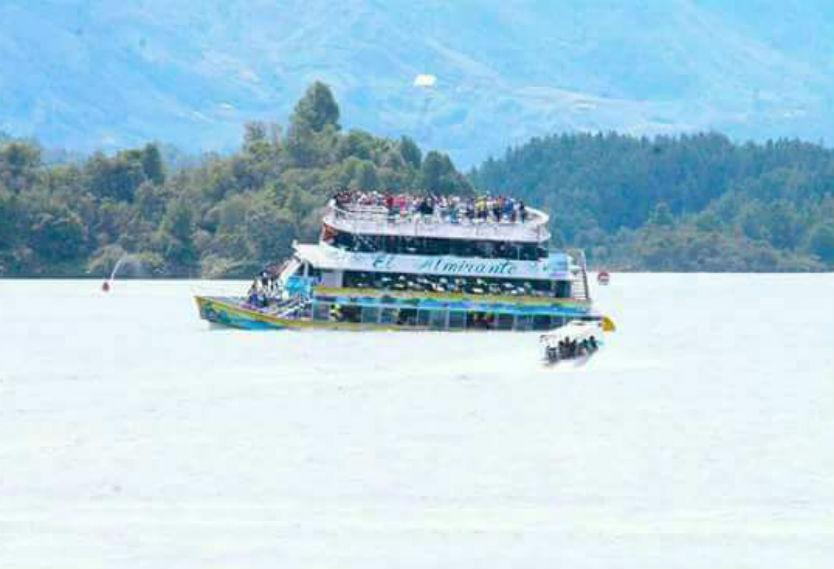 Embarcación de Guatapé