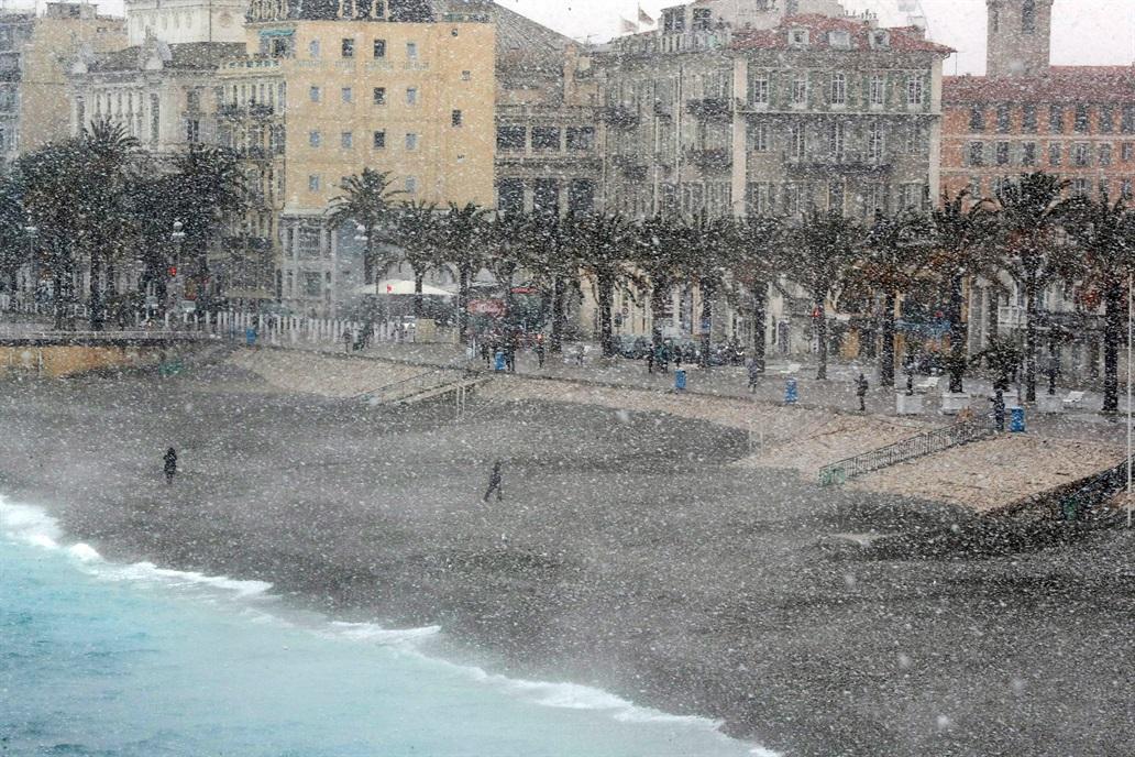 El Paseo de los Ingleses, en Niza