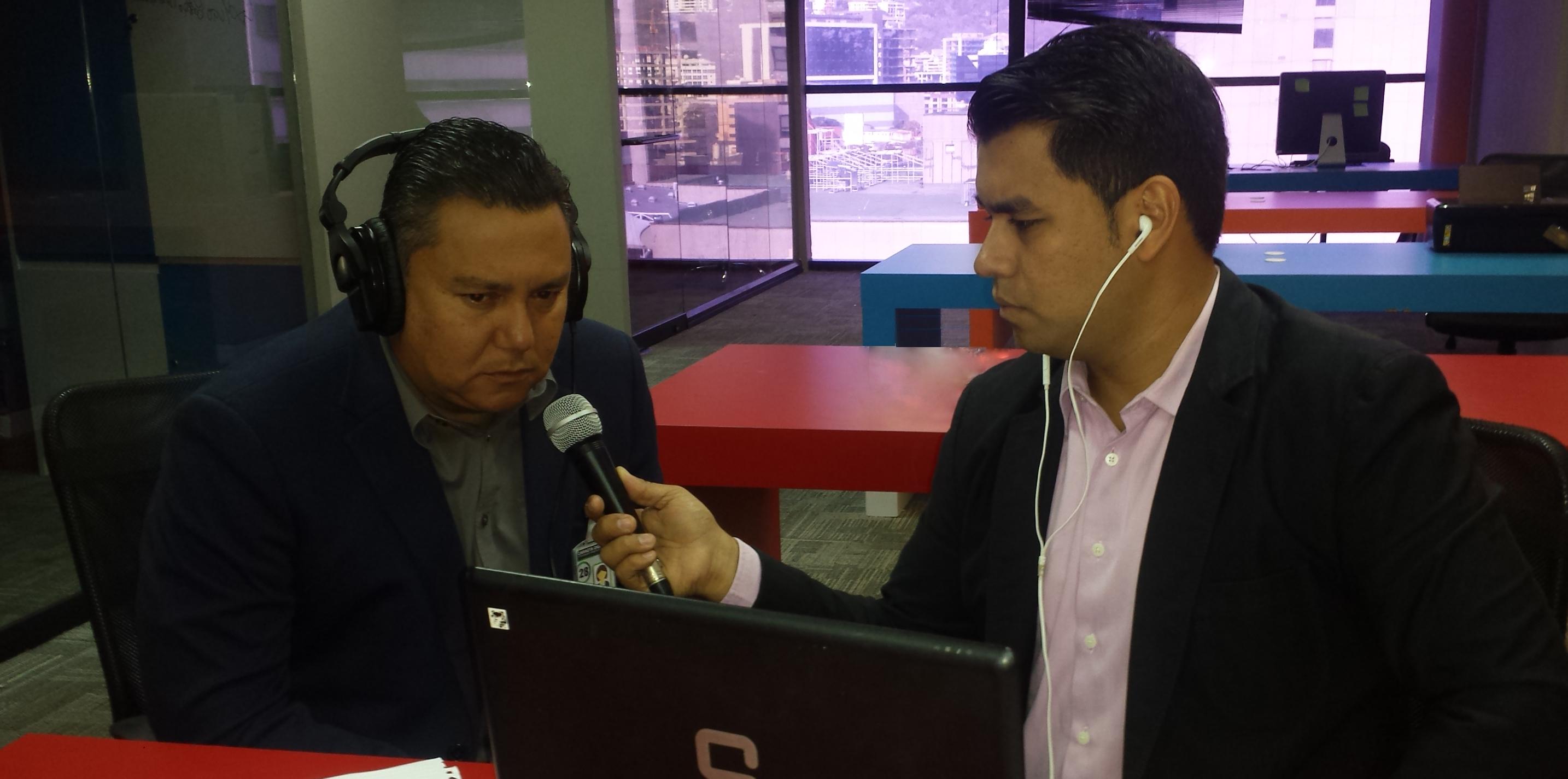 Bertucci en RCN Radio