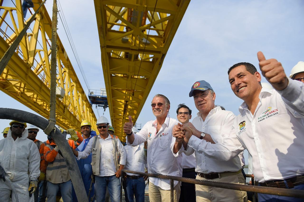 Santos en Cartagena