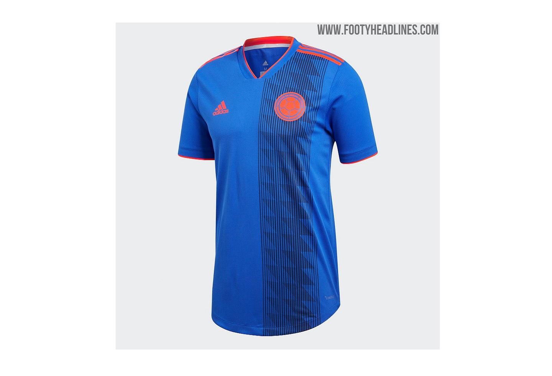 Nueva camiseta de Colombia