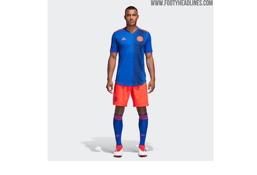 Segundo uniforme de Colombia para el Mundial