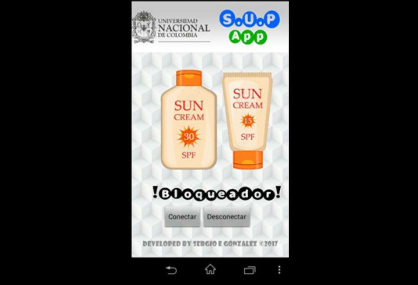 Aplicación que alerta radiación solar