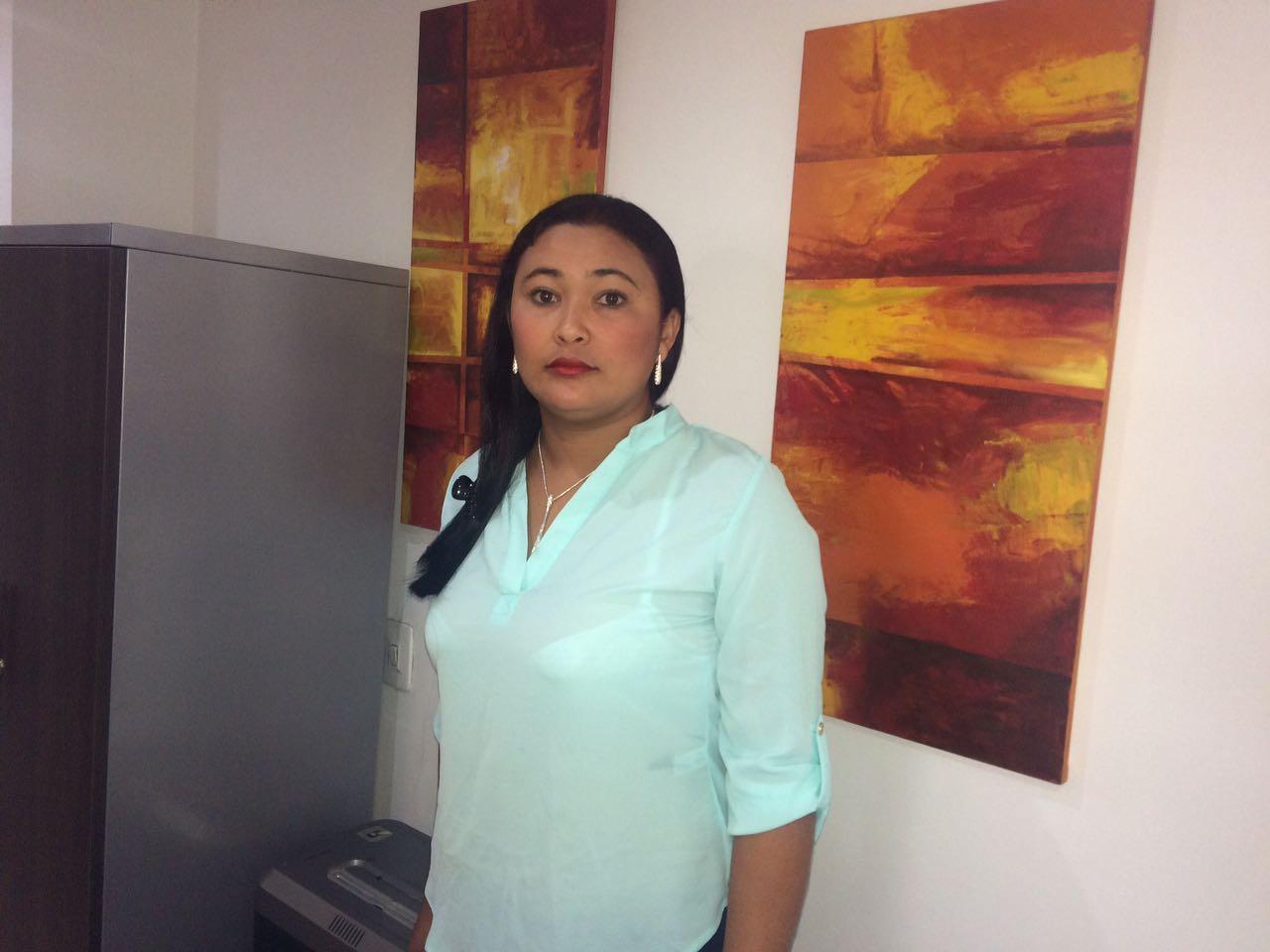 Viviana Ruíz, Gobernadora indígena.