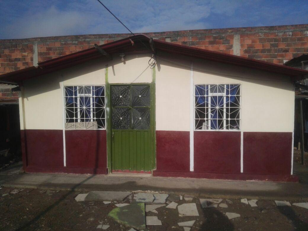 Casa prefabricada barrio San José
