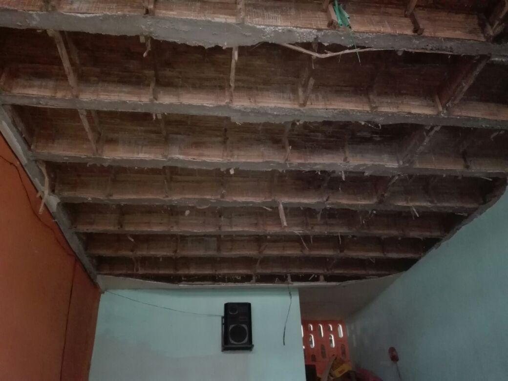 Desplome de techo