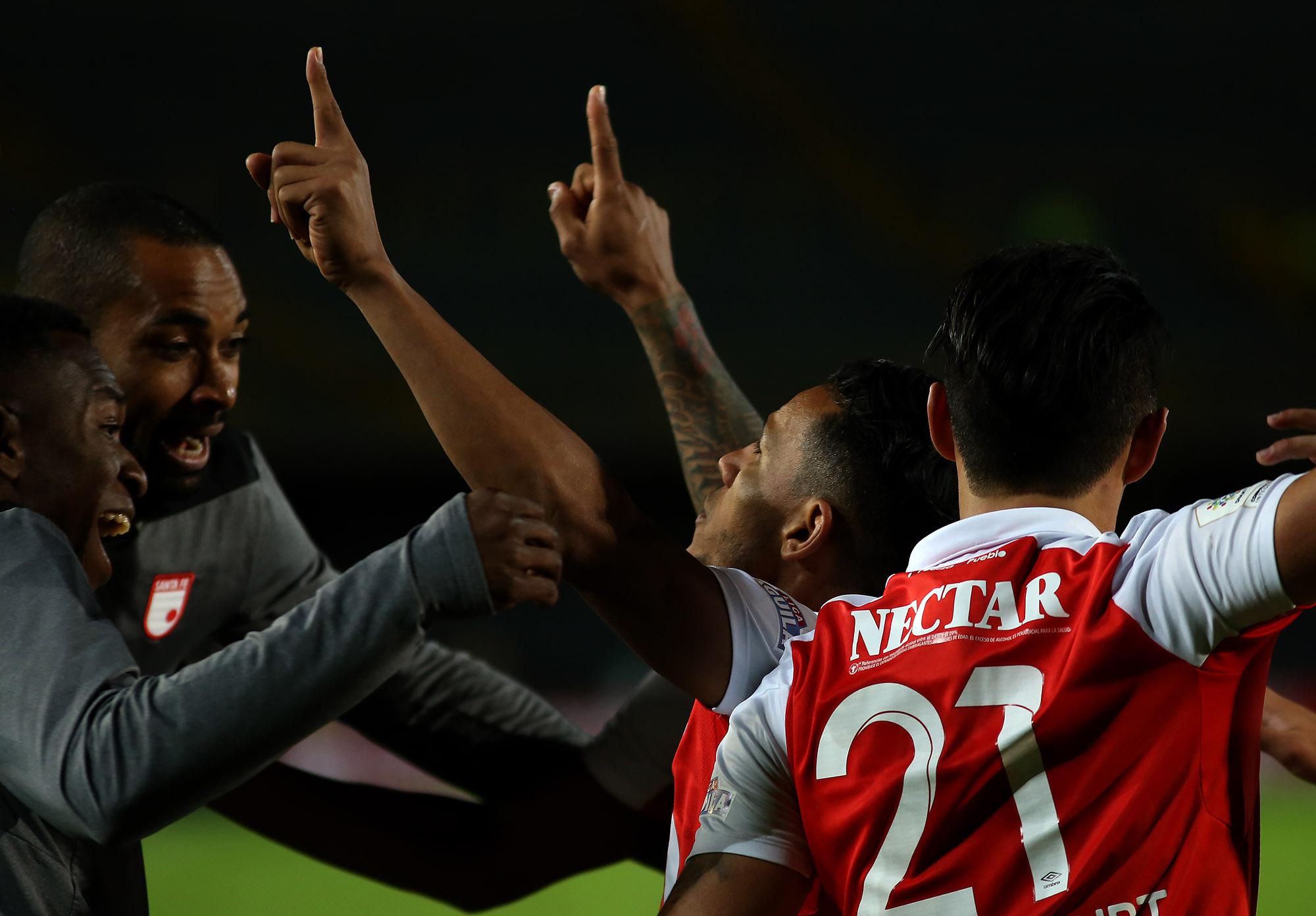 Santa Fe recibe a Flamengo esperando revalidar su empate en Brasil