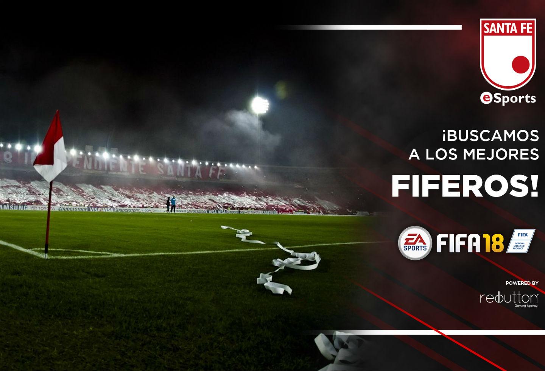 Santa Fe abre convocatoria para su equipo en la liga colombiana de fútbol virtual