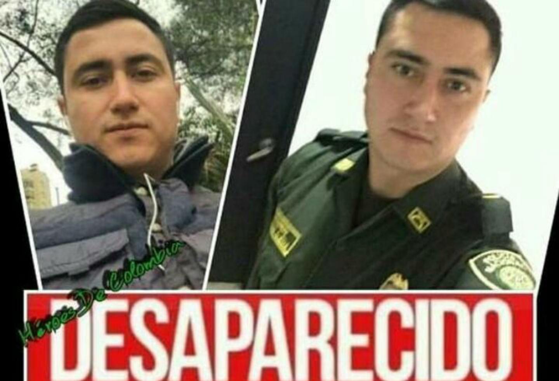 Agente desaparecido en Bogotá