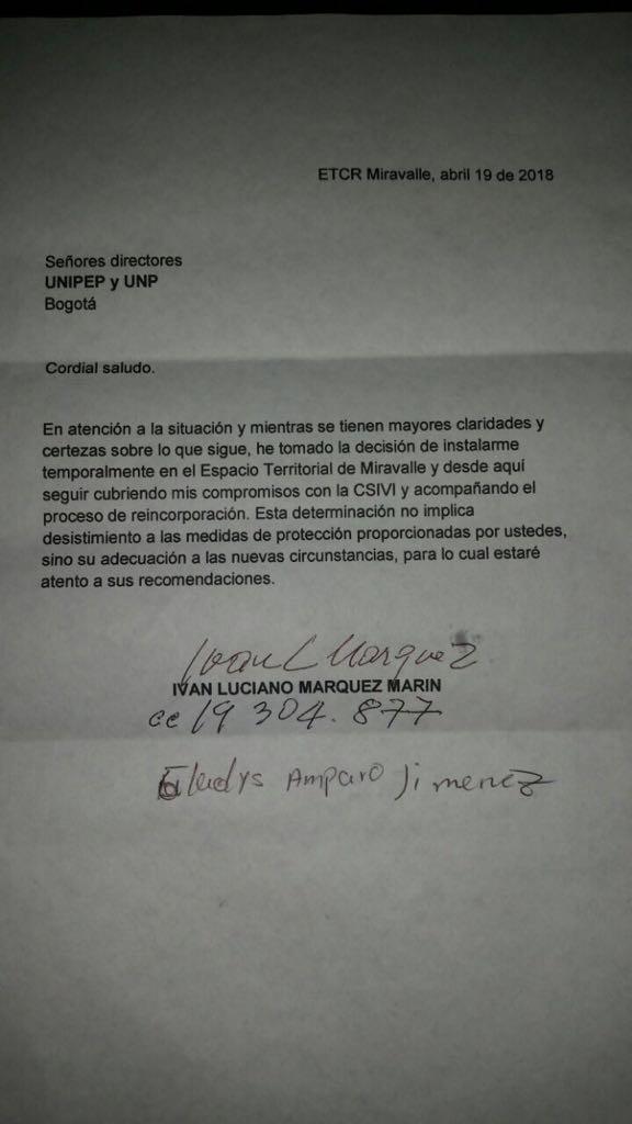 Carta Márquez