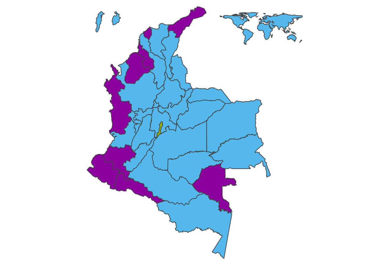 Así votaron los colombianos en la primera vuelta presidencial