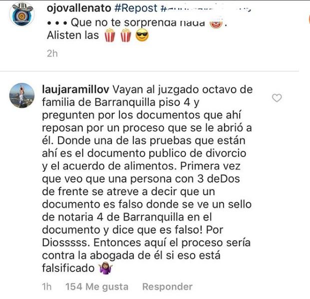 Mensaje Laura Jaramillo
