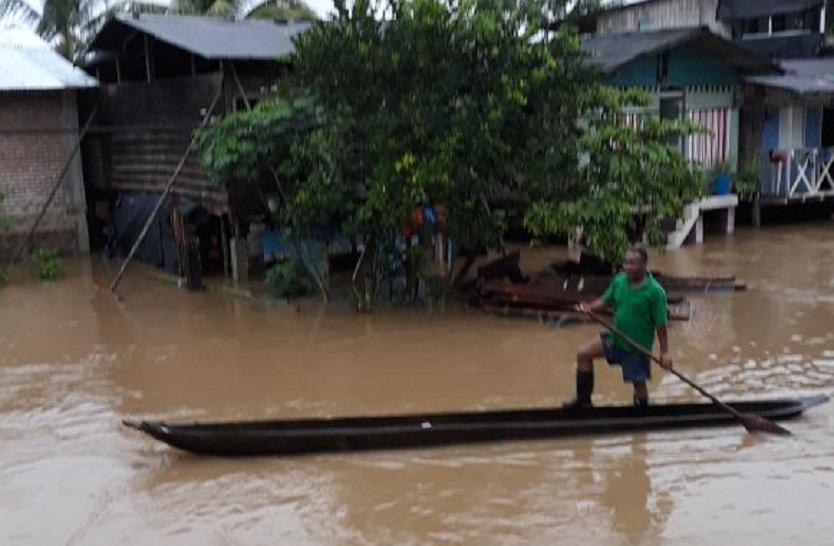 Tumaco inundación