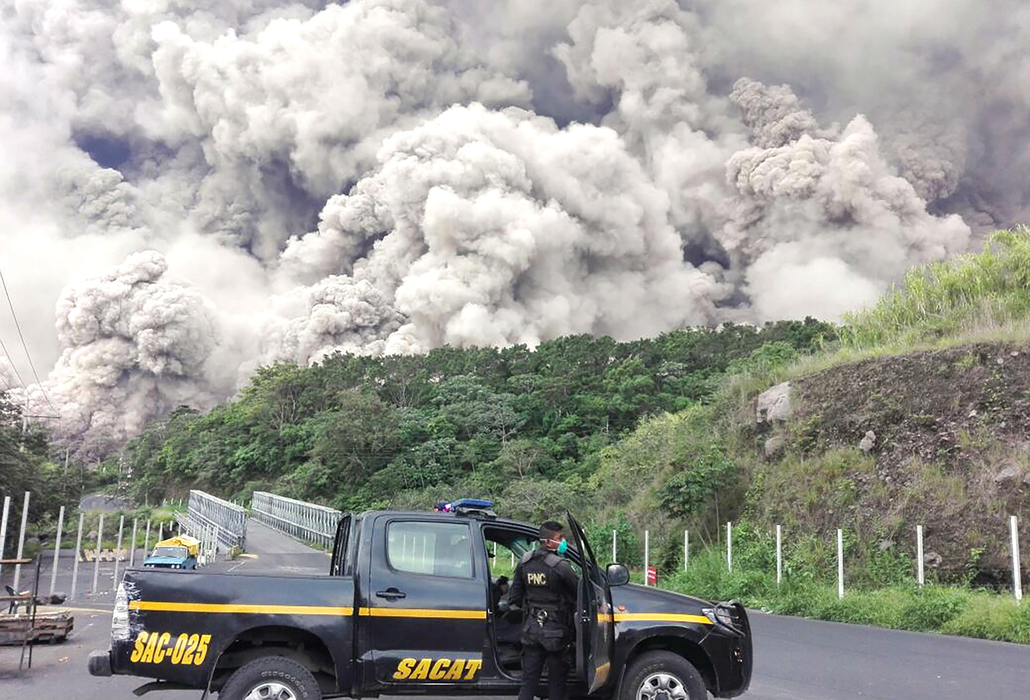 Guatemala volcán