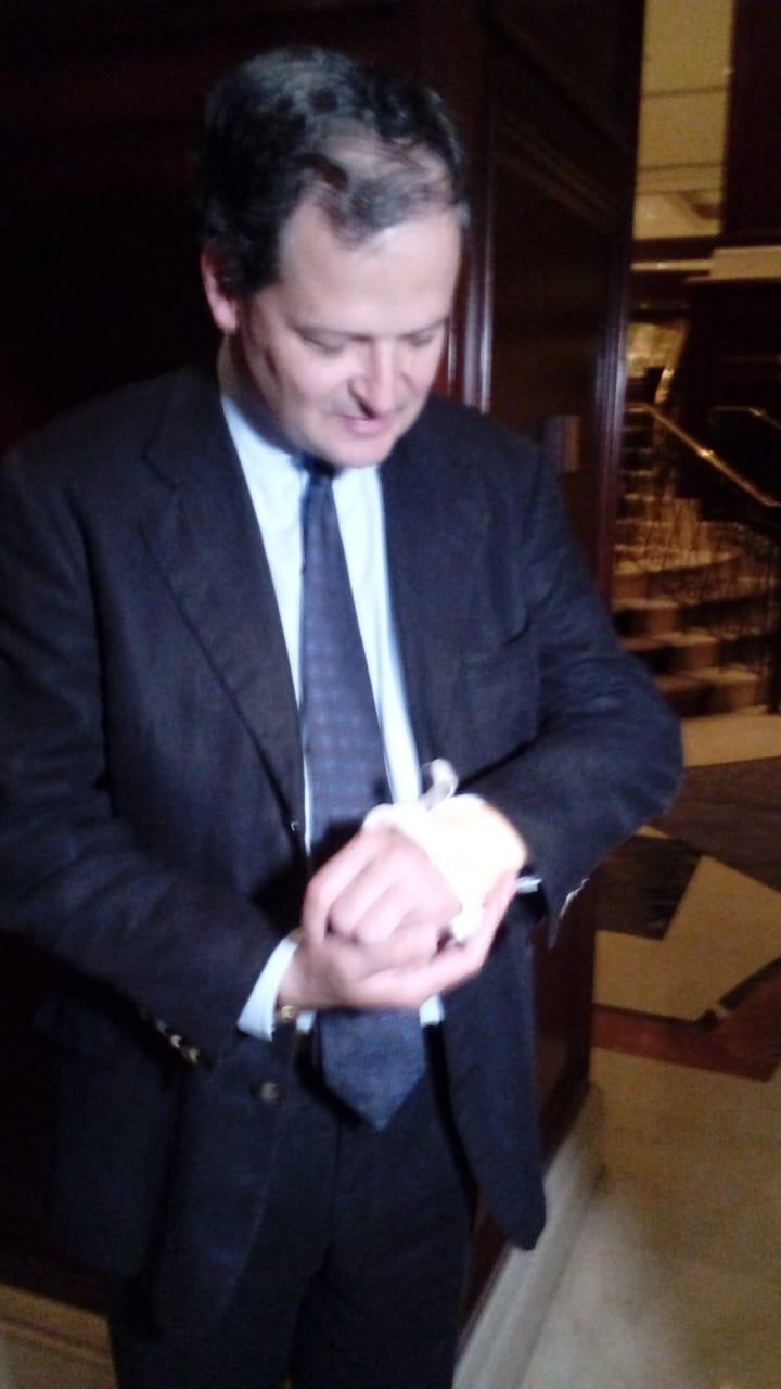 Sergio Jaramillo inmovilizado por desmovilizar a las Farc