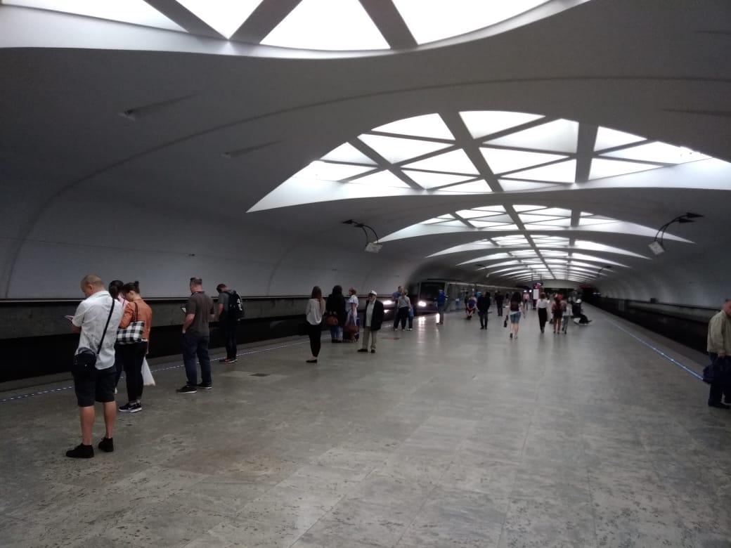 Estaciones Metro Moscú, La de Strogino.