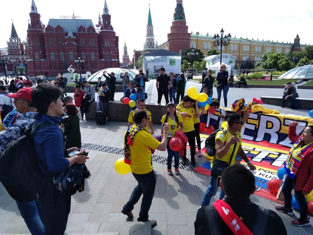 La reconocida Plaza Roja de Moscú.