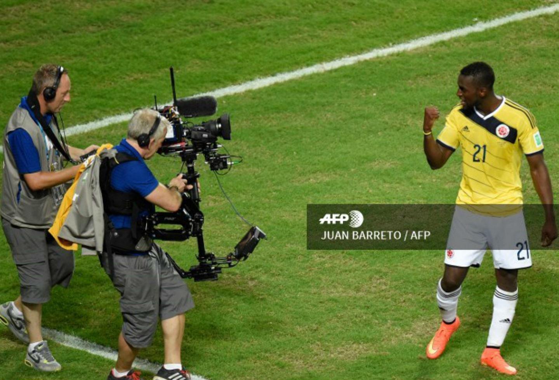 Gol de Jackson Martínez ante Japón