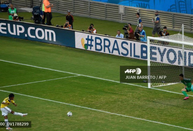 Gol de Juan Guillermo Cuadrado ante Japón