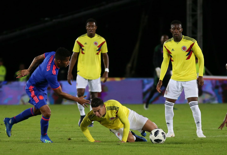 Selección Colombia en El Campín - 2018