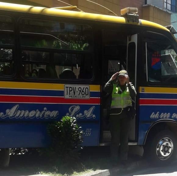 Asesinato conductor de bus en la Comuna 13 de Medellín