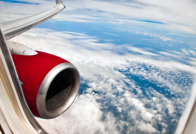 Ventana de avión