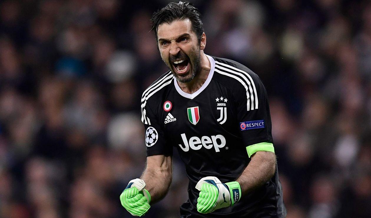 Gianluigi Buffon, ex portero de la Juventus