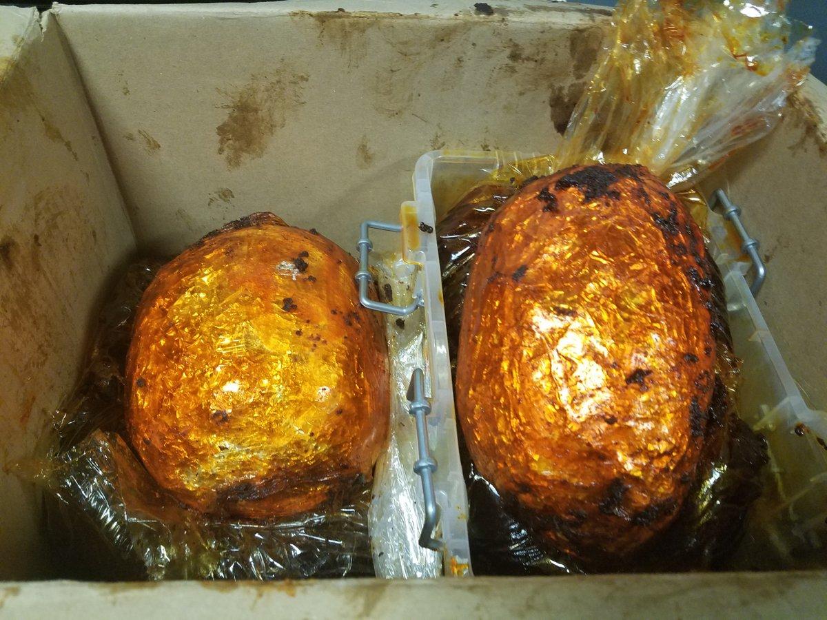 Heroína en supuestos pollos asados.