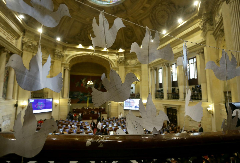 La presidenta del Instituto de Paz de Estados Unidos, Nancy Lindborg, estuvo el martes en el Congreso.