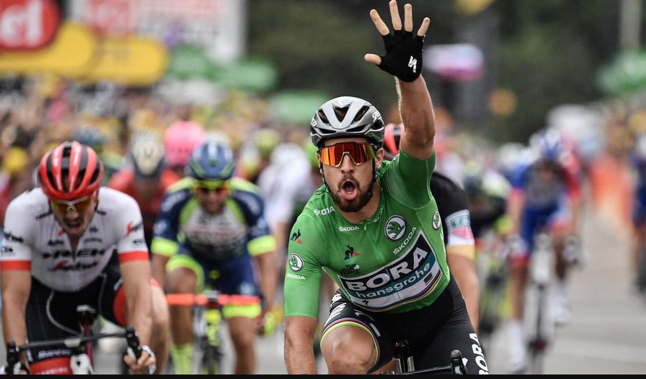 Ciclistas compiten junto a Peter Sagan en su carrera benéfica en Barranquilla - RCN Radio