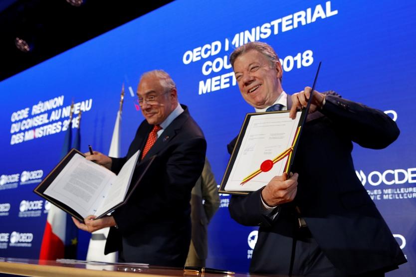 Santos en la OCDE