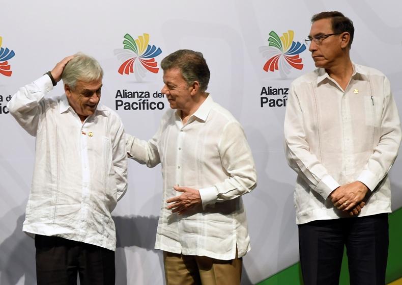 Presidente Santos en Cumbre Alianza Pacífico