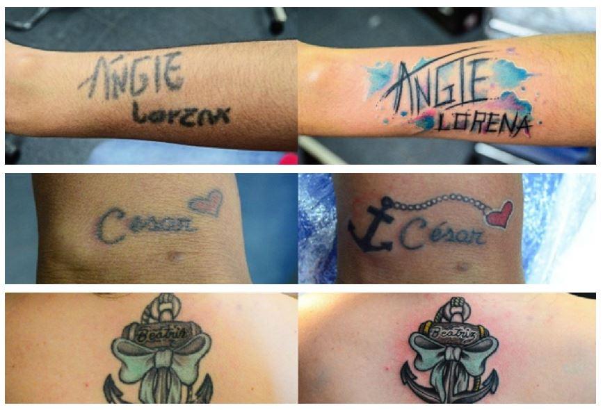 Tatuajes con errores ortográficos