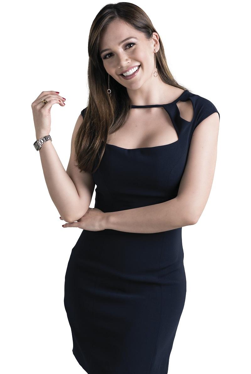 Así luce Lina Tejeiro como Catalina Mejía en 'La ley del corazón 2'