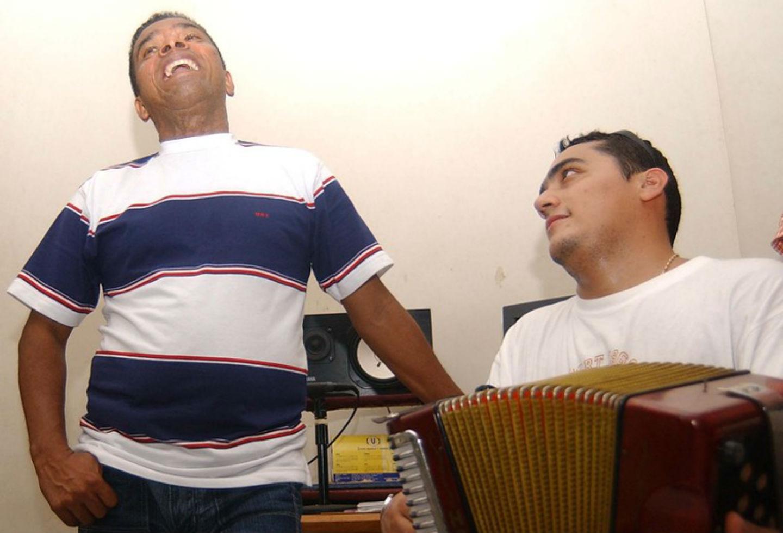 Miguel Morales junto a JuanK Ricardo