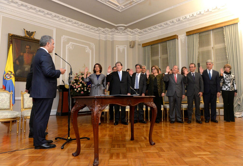 Ministros de Iván Duque