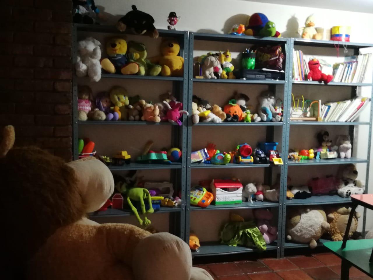 Cuarto de juguetes del Centro de Atención al Migrante