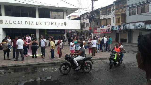 Por lo menos 120 habitantes de Tumaco tendrán problemas en el suministro del liquido.
