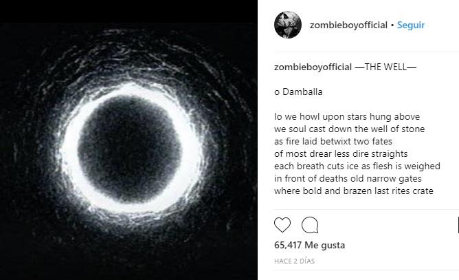 Zombie Boy poema