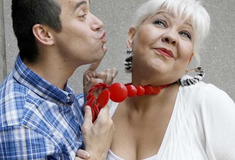 Fabiola Posada en compañía de su esposo Nelson Polanía, 'Polilla'