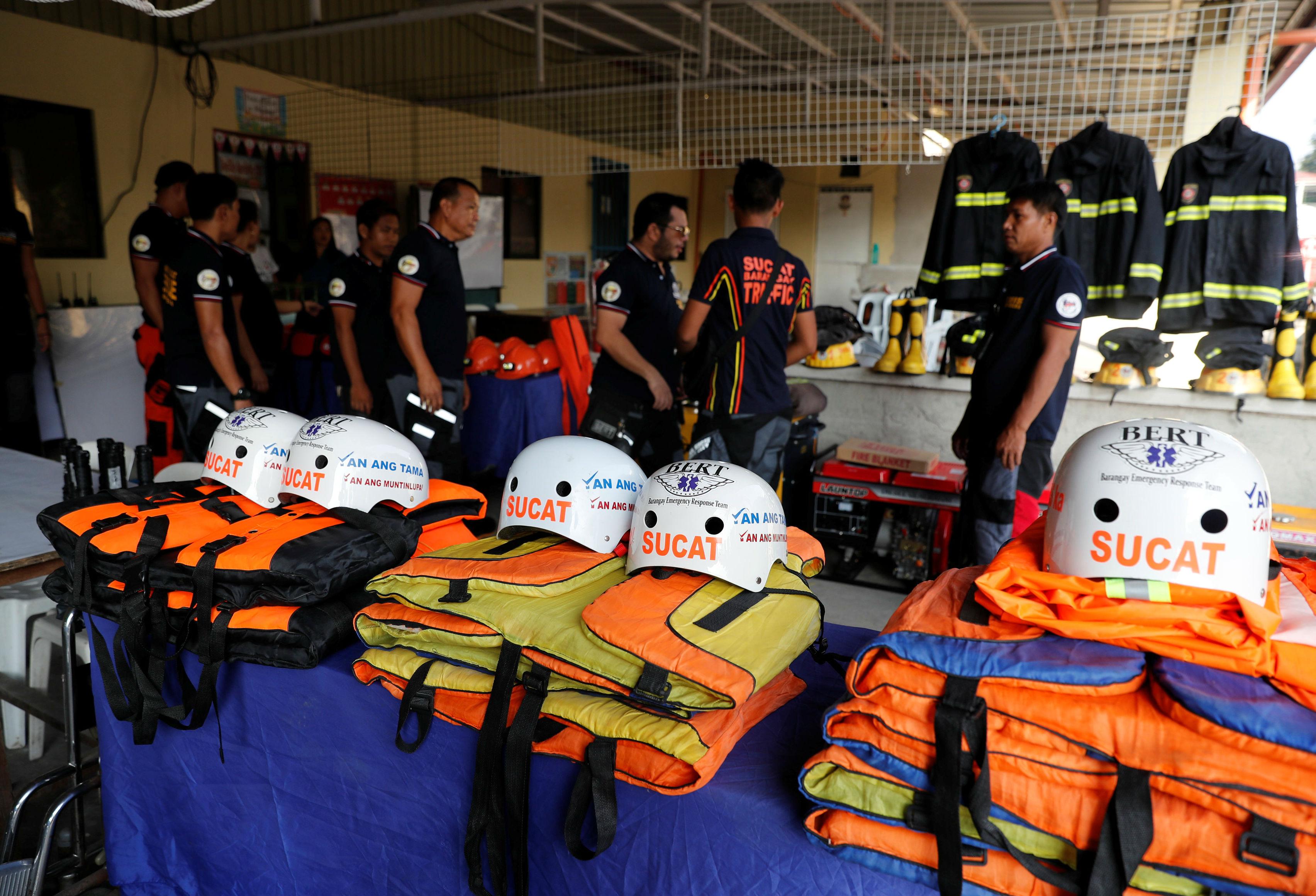 Filipinas emergencia Tifón