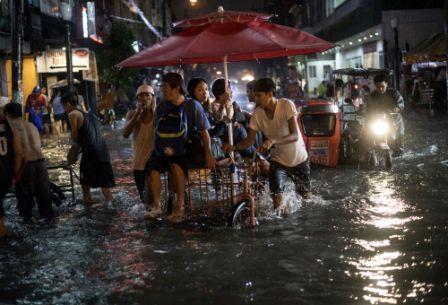 Filipinas tifón inundaciones