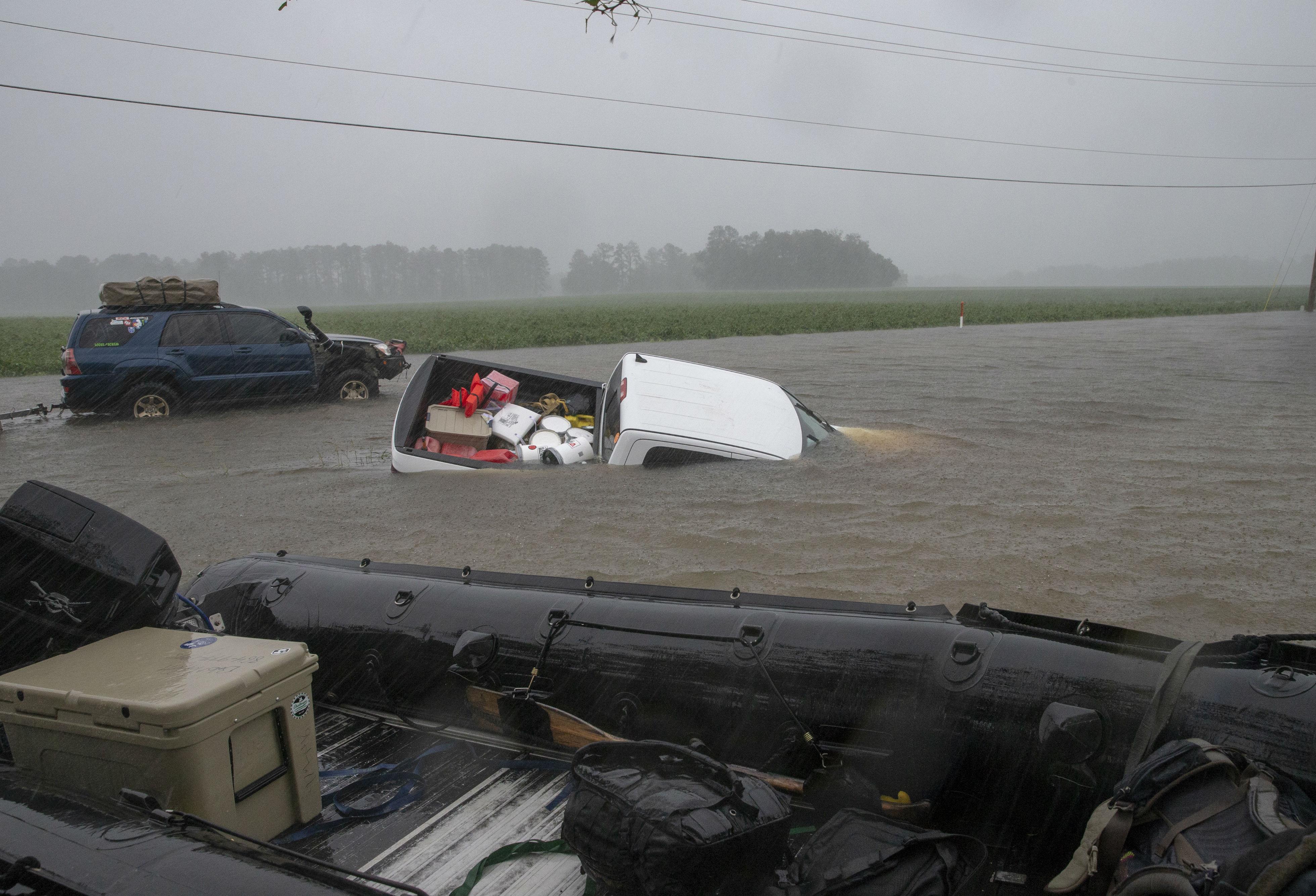 Huracán Florence Estados Unidos