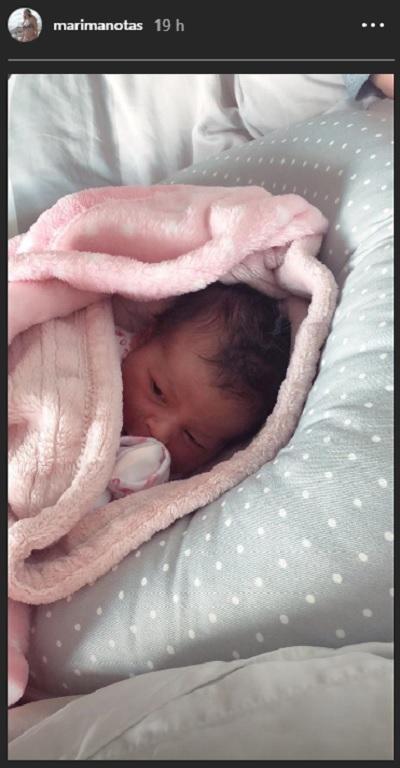 Foto de la hija de Alejandro Riaño