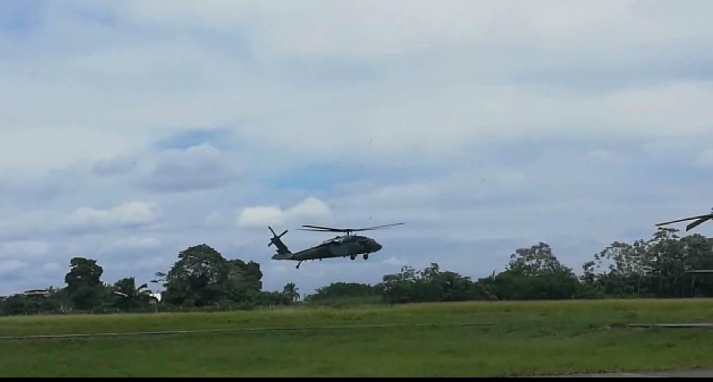 Todas las especialidades de las Fuerzas militares hacen parte de la acción contra Guacho