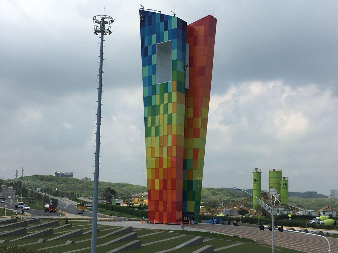Monumento en la ciudad de Barranquilla