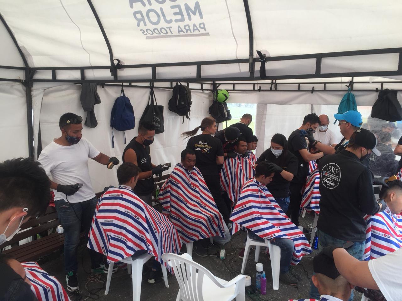Jornada de atención a migrantes venezolanos en Bogotá