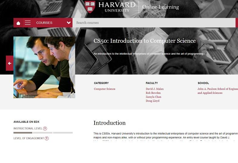 Portal Universidad de Harvard