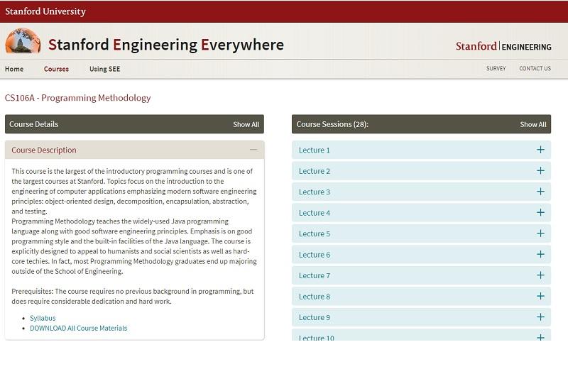 Portal Universidad de Standford