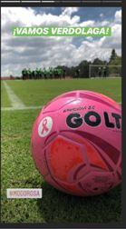 Balón rosa de la Liga Águila